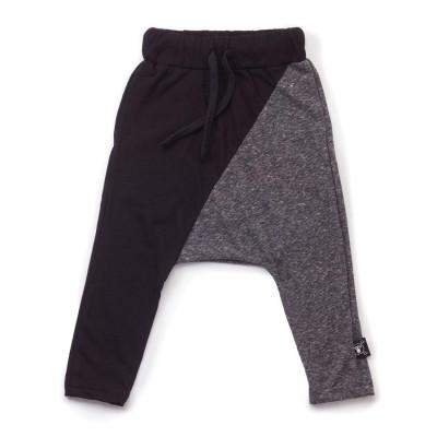 1/2 Baggy Pants Μαύρο και Γκρι