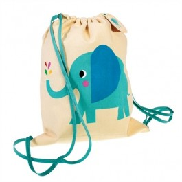 Drawstring Bag - Elvis the Elephant