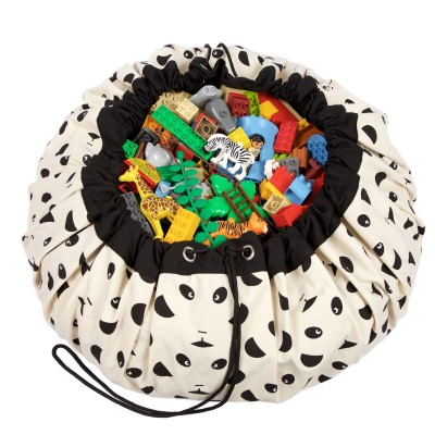 Τσάντα αποθήκευσης παιχνιδιών 2 σε 1- Panda