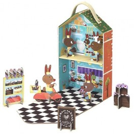 Kroom Travel Playset- Pastry Shop