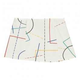 Fleece Tennis Skirt Court