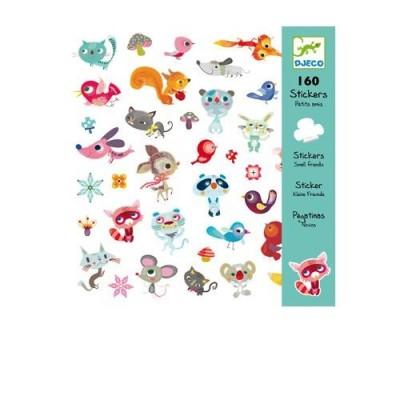 Σετ με 160 stickers - Little Friends