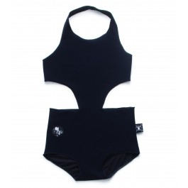 Cutout Swimsuit - Black
