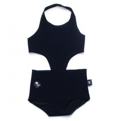 Cutout Swimsuit - Μαύρο