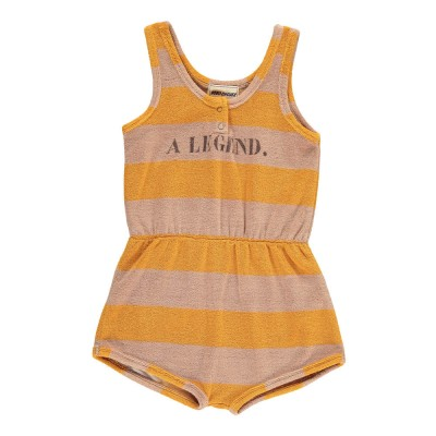 004dfb12b253 Striped Terry Playsuit - A Legend - Alice on board