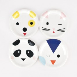 Small Paper Plates - Mini Animals