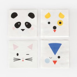 Small Napkins- Mini Animals