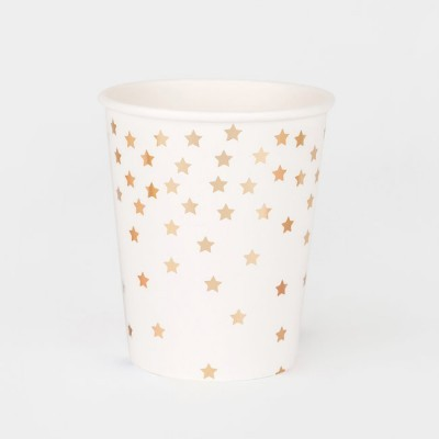 Cups in Gold Stars