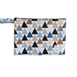 Waterproof Bag Medium - Triangles