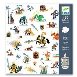 Σετ με 160 stickers - Ιππότες