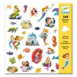 Σετ με 160 stickers - Γοργόνες