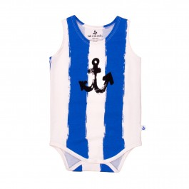 Blue Stripe Anchor Boy