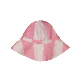 Summer Hat Pink stripes