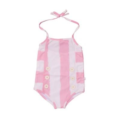 Swimsuit - Rose Stripes