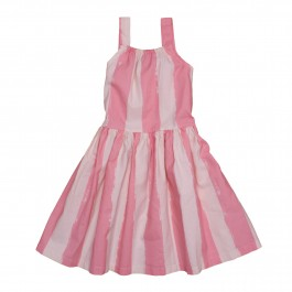 Dancing Dress- Pink Stripes