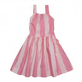 Dancing Dress- Pink Stripes