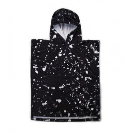 Splash Poncho Towel - Black