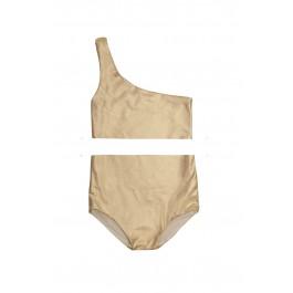 Assymetric Bikini - Gold