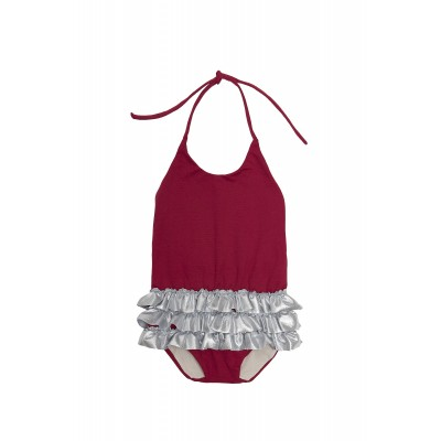 Baby Chic Bathing Suit - Garnet
