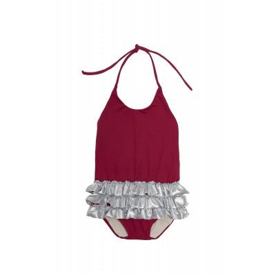 Baby Chic Bathing Suit - Garnet