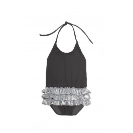 Baby Chic Bathing Suit - Ebony