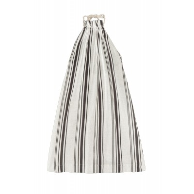 Tuareg Apron Dress - Light Stripes