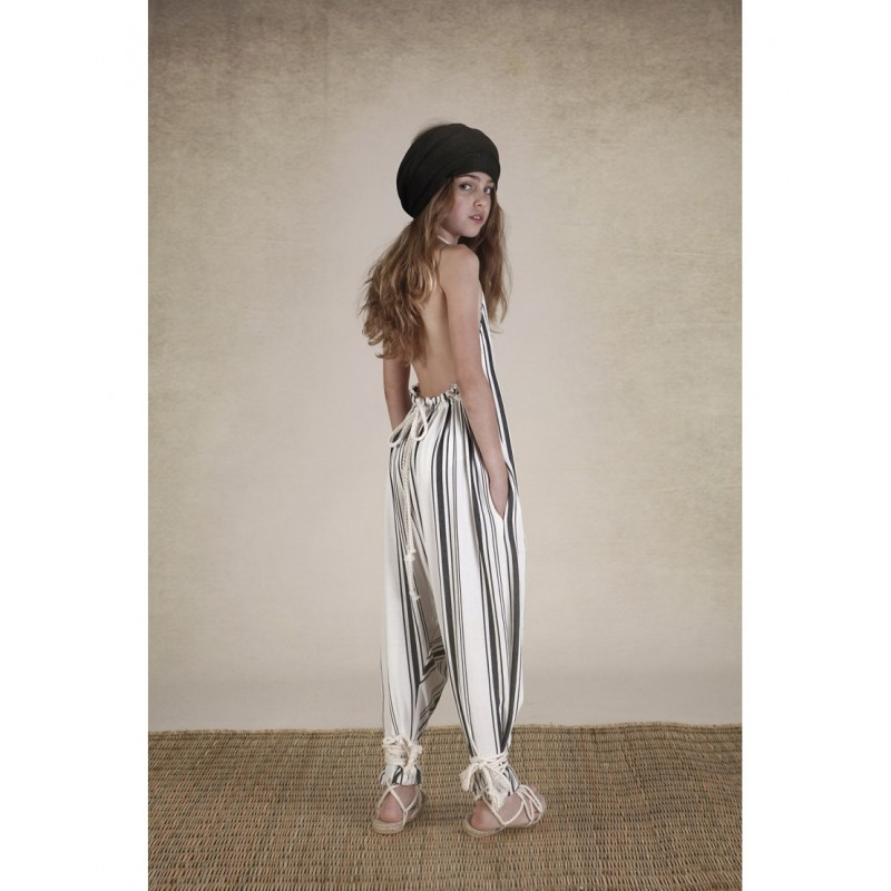 787283993a2 Tuareg Apron Jumpsuit - Light Stripes - Alice on board