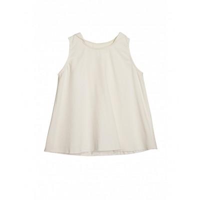 Hooded Vest - Ivory