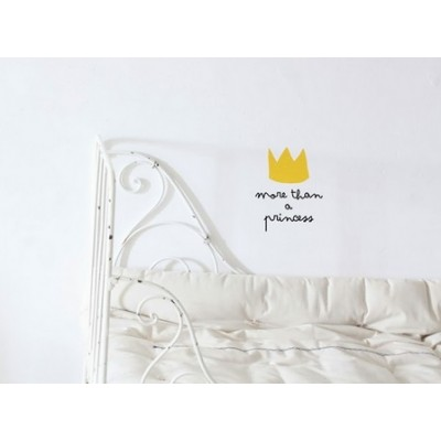 Wall Decal - More than a princess