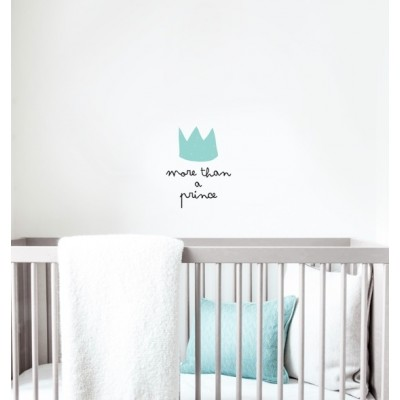 Wall Decal - More than a prince