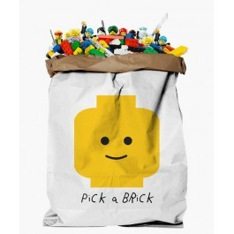 Καλάθι οργάνωσης και αποθήκευης - Yellow Brick