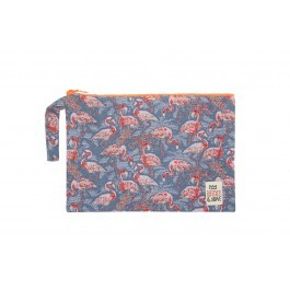 Waterproof Bag Medium - Jean Flamingos
