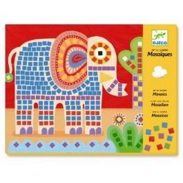 Mosaics Elephant