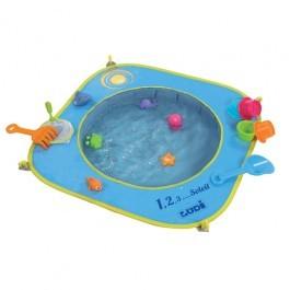 Pop Up πισίνα για την παραλία - με παιχνίδια