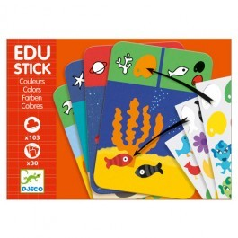 Edu Colors Stickers Game