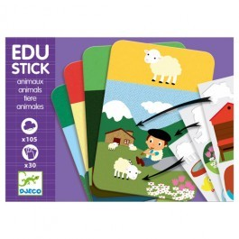 Edu Animals Stickers Game