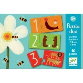 Puzzle Duo- Μαθαίνω αριθμούς