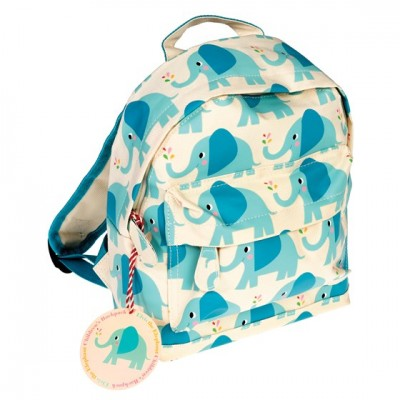 502f76fc0f4 Mini Back Pack Elvis the Elephant - Alice on board