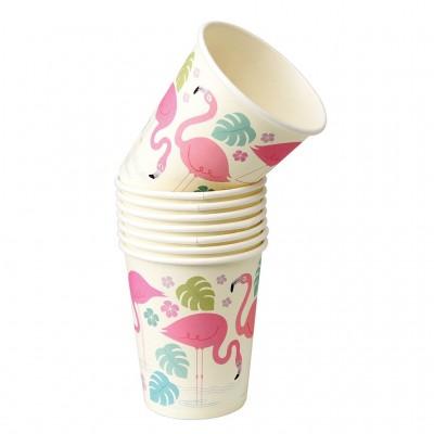 Paper Cups - Flamingο Bay