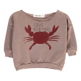 Baby Sweatshirt Crab