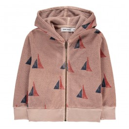 Organic Hooded Sweatshirt - Boat