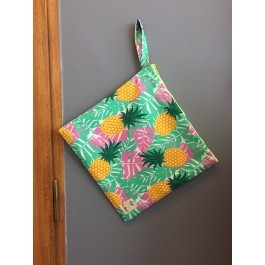 Waterproof Bag Large - Pineapples