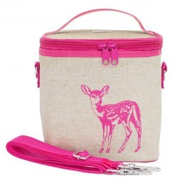 Small Cooler Bag- Pink Fawn