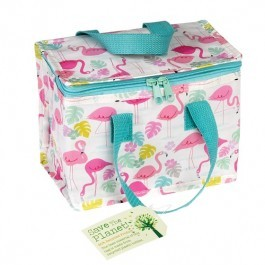 Insulated Lunch bag - Flamingo Bay