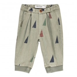 Organic Baby Baggy Trousers - Sails