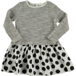 Dress Mix - Black Dots