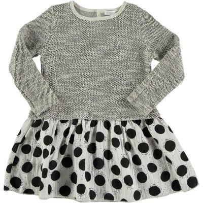 Dress Mix - Black Dots