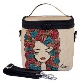 Μεγάλη Ισοθερμική τσάντα φαγητού - Pixopop Roses