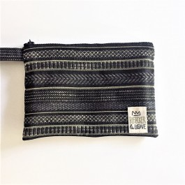 Waterproof Bag Woven - Greece Black Gold