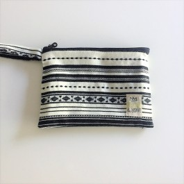 Waterproof Bag Woven - Greece Black White
